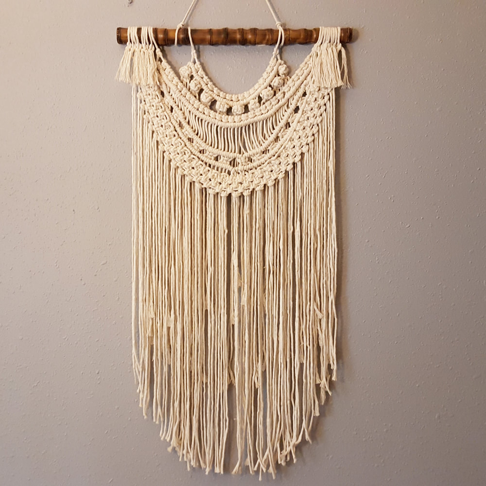 Bohemian Wall Art Macrame Wall Hanging
